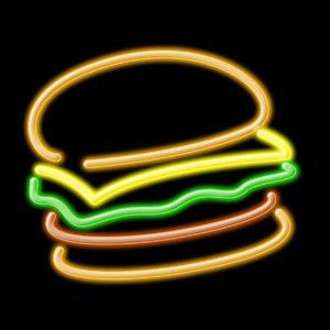 neon-burger